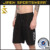 New custom design sublimated waterproof 4 way stretch board shorts swimming boardshorts men black
