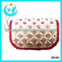 fashion promotion pearl beads purses