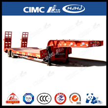 CIMC 60ton power heavy duty low bed tractor trailers