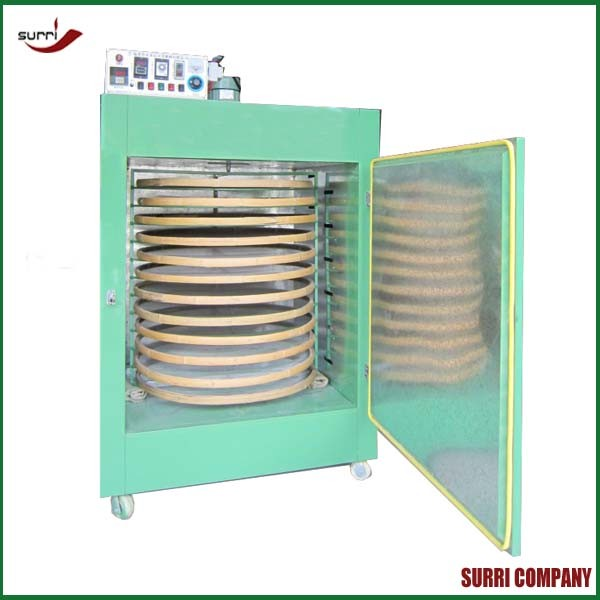 16 floors rotating Tea drying machine