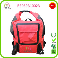 waterproof foldable backpack dry bag with customized logo printing
