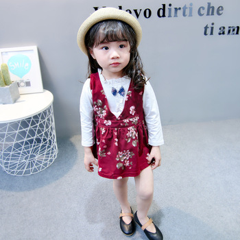 Latest design fashion kids clothes wholesale children's clothing sets baby girls clothes sets