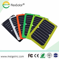 Flextech the hottest Portable Solar Charger with dual USB, mobile phone solar charger