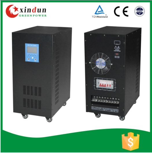 Pure sine wave hybrid inverter 10kw 15kw 20kw 30kw for Solar panel system