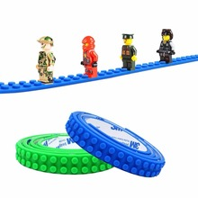 Wholesale educational toys silicone building block tape for children