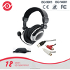 Super Bass PC Headphone Noise Cancelling Gaming Headsets Multi-function DJ Headphones with Floding Microphone