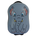 children elephant printed trolley bag suitcase for kids
