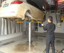 Hot sale car washing lift with single post for saving space