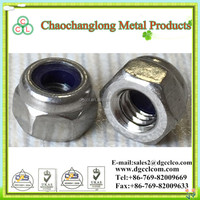 DIN 985 Stainless Steel 304 Nylon Insert Lock Nut M4