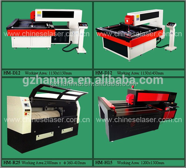 300W LASER DIEBOARD CUTTING / PRINTING MACHINE /DRAWING MACHINE/ KNIFE /FOR 20MM PLYWOOD HM-D12