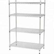 NSF High quality 4-layer chrome wire shelving home kitchen <strong>shelf</strong>