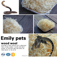 2015 Hot Sell Wood Wool For Reptile Cage