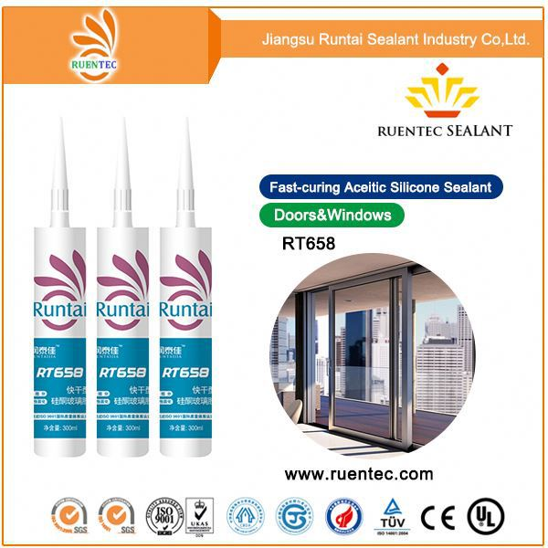 Mirror Fixing Neutral Anti-bacteria Mirror Silicone Sealant Neutral Curing Glass Mirror Silicone Sealant