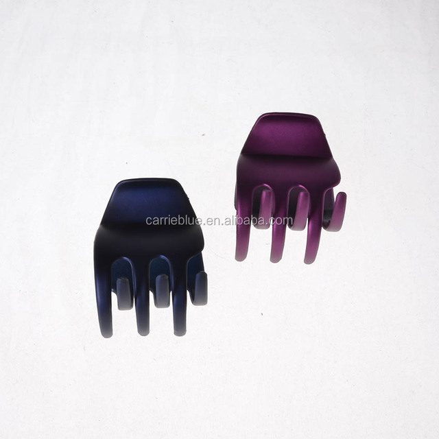 New Product Fashion Crystal Hair Claw Clip Eggplant Luxuriant Hair Claw Clip.