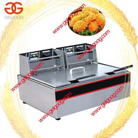 Large Chicken Wings Frying Machine|Professional Chicken Deep Frying Machine