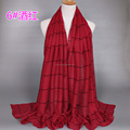 New design plaid Muslim Hijab Scarves,long shawls,can choose colors GBS280