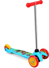 Adjustable high 3 twist PVC wheels mini scooter for kids