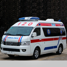 China Manufacturer New Foton RHD Ambulance Car Price/4x2 2WD ICU Ambulance For Sale