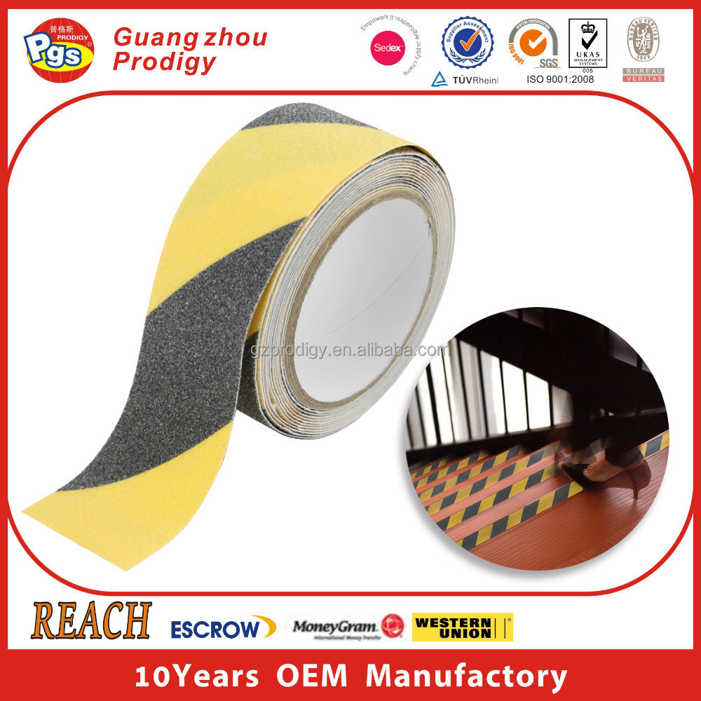 Hot sale adhesive anti skid fabric anti slip tape for floor