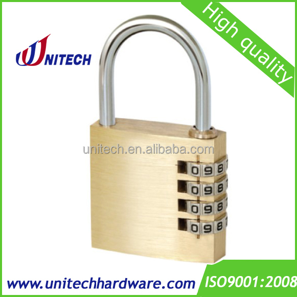 50mm 4 Digit Resettable entry lock,combination lock