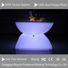 Fashion Design Remote Color Changing RBG Modern Led bar coffee Table