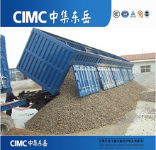 Best Sale 40 Ton Dump Tipper Truck And Trailers With Tri-axle CIMC Brand
