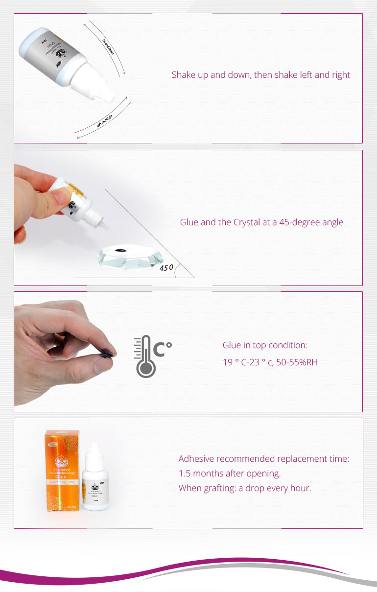 Prevent lalergy nano eyelash extension glue 10ml