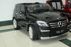 Mercedes Benz AMG ML63 children electric car with RC