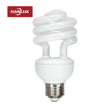 High lumen spiral cfl lamp energy saving bulb by fluorescent tube