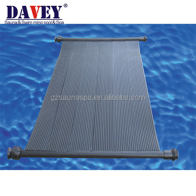 Chinese factory Anti-UV Black rigid Spa/swimming pool sunny solar collector