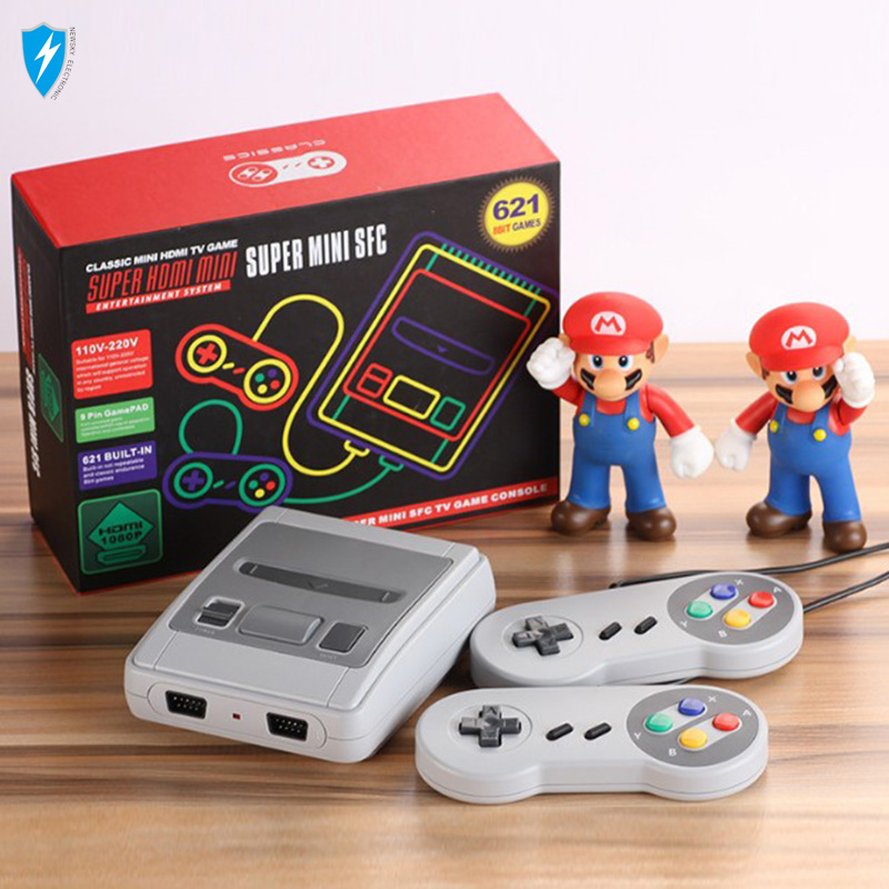 Super Mini SFC Game console HD Retro Handheld Game Player Family TV Video Game Console