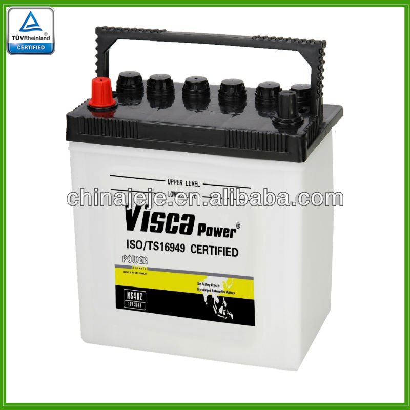 Lead acid battery NS40Z 12V35AH VISCA
