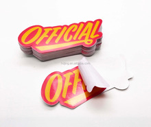 removable outdoor use 3M vinyl sticker with custom design printed (HB-069)