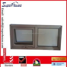 Au AS2047,AS2208,AS1288 Standard aluminum chain winder double top hung window