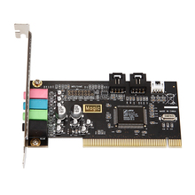 Hot selling PCI 4 channel pci sound card driver /pci 4ch sound card with CMI8738 Chipset