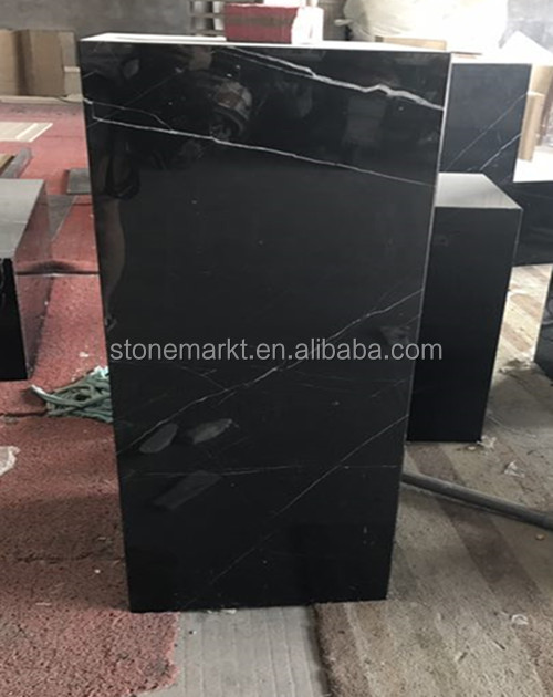 cheap marquina marble desktop, black worktop, black marble Furniture