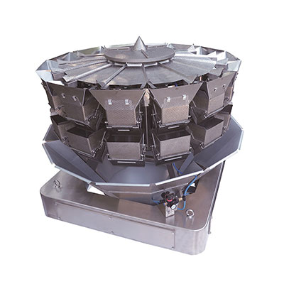 14 heads salad weigher frozen peas sea food fruit salad packaging machinery fruit and vegetable packing machine