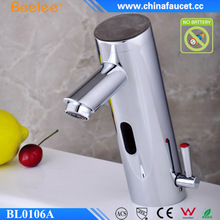 Beelee Bathroom Faucet Hands Free Automatic Sensor Basin Mixer Water Tap