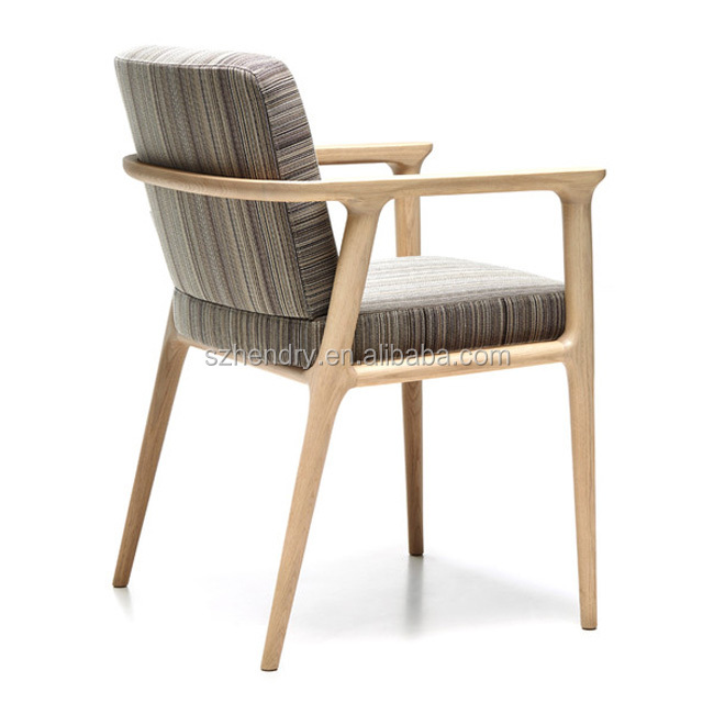 Restaurant Furniture Modern Wood Study Dining Room restaurant chair with armrest