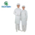Antistatic coverall esd white clothing cheap coverall with hood