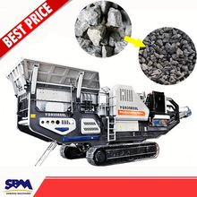 China's latest products crawler type mobile crushing plant, distributor stone mobile crusher