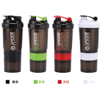 Popular plastic protein shake shake shaker bottle ball shaker bottle