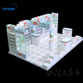 Fair exhibition booth trade show display booth system