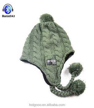 Langder 2017 new item winter hats with pom poms