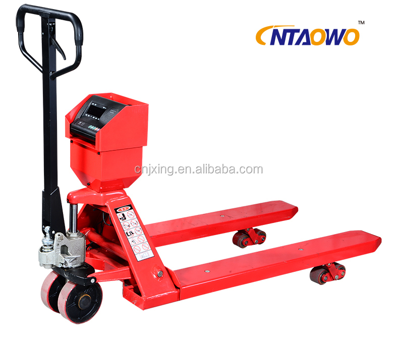 2Ton Hydraulic Pump Hand Pallet Truck with Weight Scale
