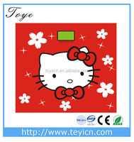 Hello Kitty Unique bathroom scale body weighing scale with logo