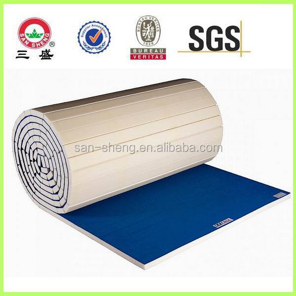 Flexi roll mats for judo, tatami gymnastics mats ,roll out mat for sale