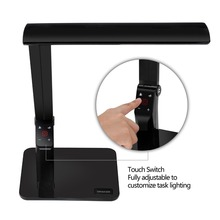 Touch Sensitive Dimmable Led Desk Lamp Color Temperature Adjust With USB
