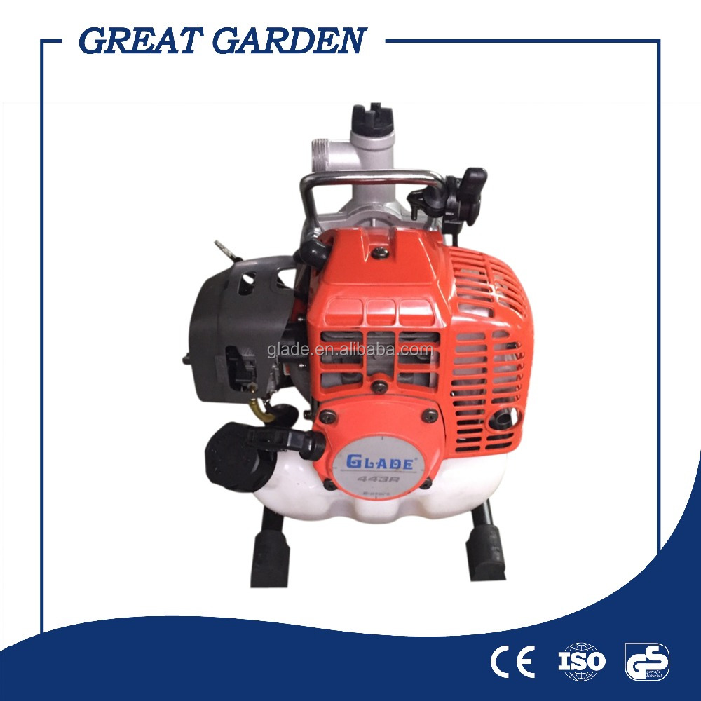 mini gasoline pump water supply portable water pump