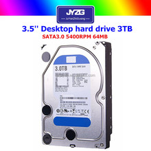 wholesale 3.5inches sata 3tb Desktop 64mb second hand hard disk